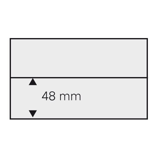 Schede per francobolli DIN A6 - 1 listello
