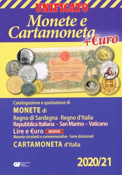 UNIFICATO Monete e Cartamoneta d''Italia +EURO Italia San Marino Vaticano 2020/21