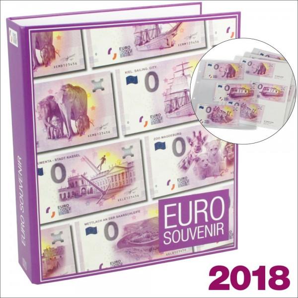 Album per banconote 0 Euro Germania 2018