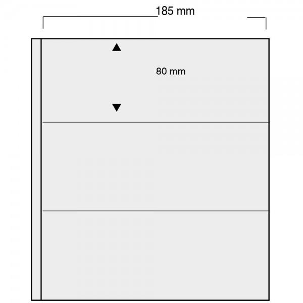 "Foglio nero Nr. 860 ""Variant"" - utilizzabile sui 2 lati"