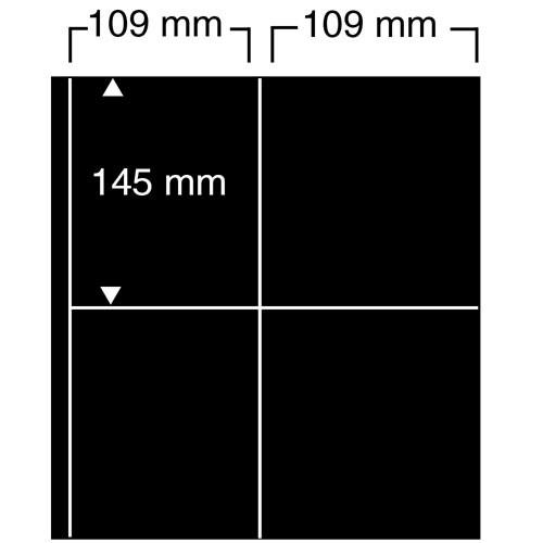 """Foglio nero Nr. 476 """"Compact A4"""""""