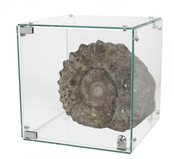 Vetrina in vero vetro
