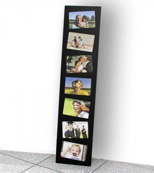 Cornice per foto in legno nero