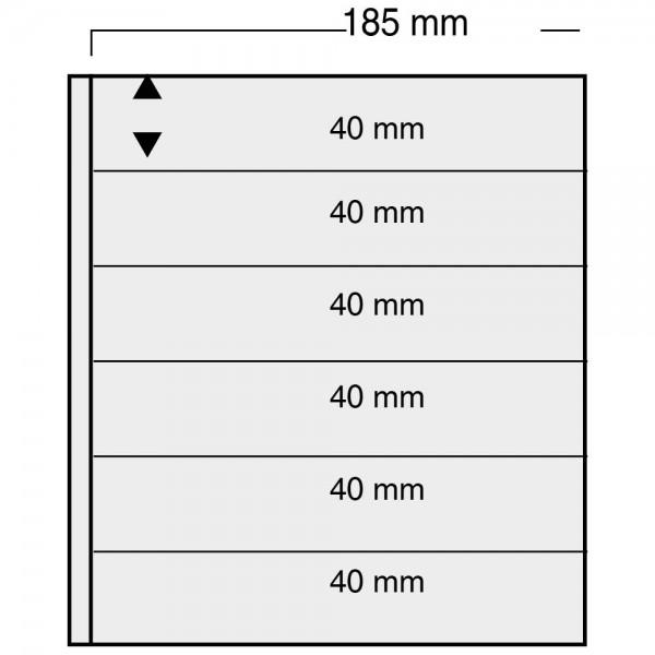 "Foglio nero Nr. 865 ""Variant"" - utilizzabile sui 2 lati"