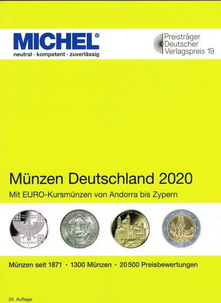 MICHEL Catalogo Germania Monete 2020 - Münzen Deutschland