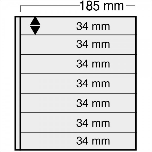 "Foglio nero Nr. 870 ""Variant"" - utilizzabile sui 2 lati"