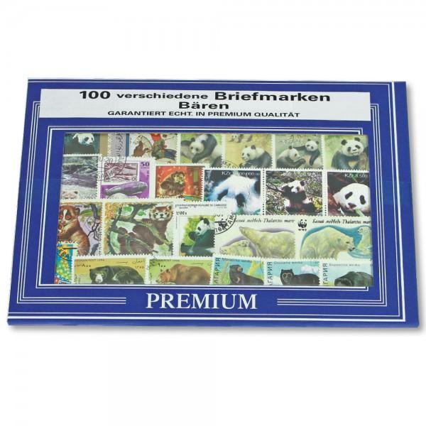 """Set di francobolli """"Orsi"""
