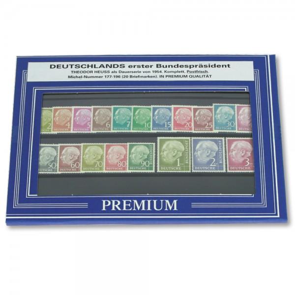 "Set di francobolli ""Theodor Heuss"""