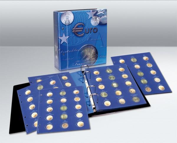 Album TOPset per monete 2€ commemorative in capsule