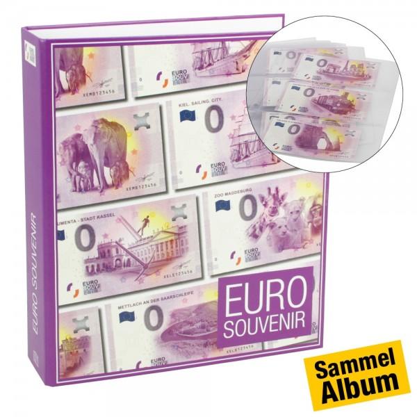 """Album per banconote 0 Euro """"neutro"""""""
