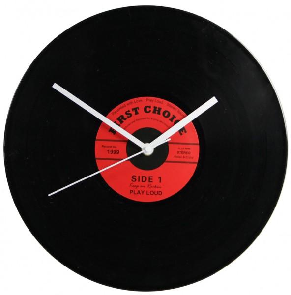 """Orologio da parete """"Record"""" rosso"""