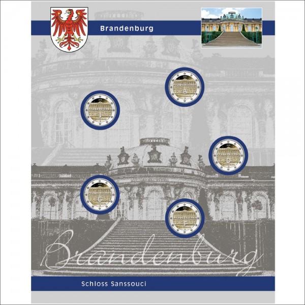 "Foglio TOPset 2 Euro ""Brandenburg"""