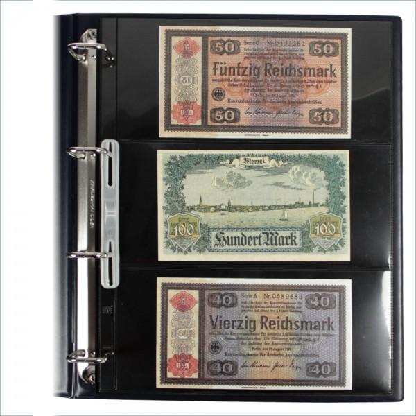 """Foglio nero Nr. 453 """"Compact A4"""" per banconote"""
