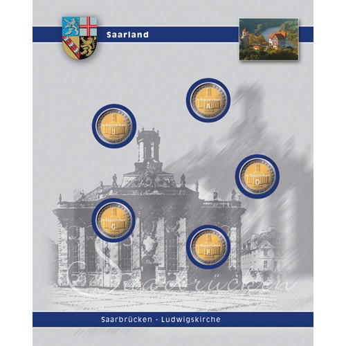 """Foglio TOPset 2 Euro """"Saarland"""""""
