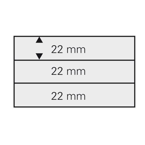 Schede per francobolli DIN A6 - 3 listelli