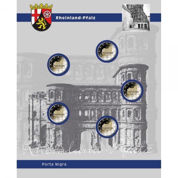 "Foglio TOPset 2 Euro ""Rheinland-Pfalz"""