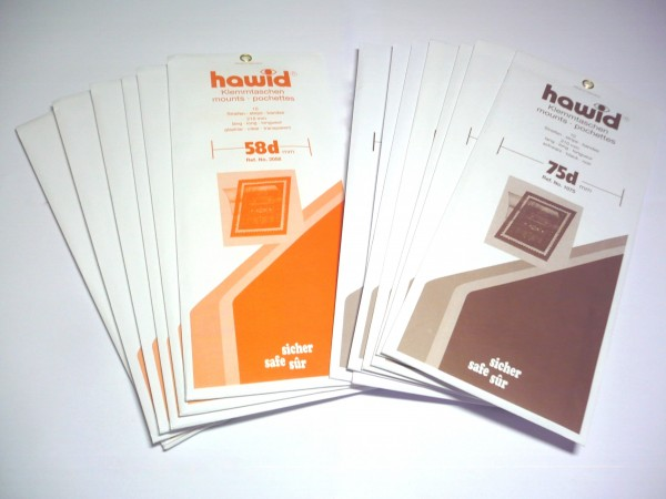 Strisce HAWID Super long per blocchi e foglietti 265 x 145 mm