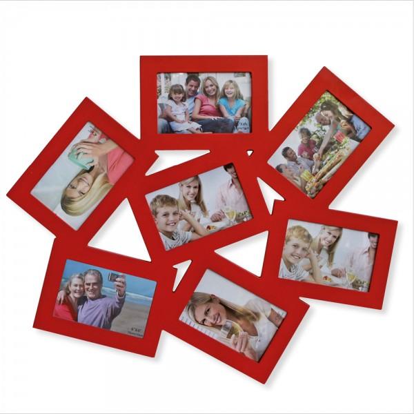 Cornice per foto Collage rosso