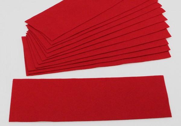 Rivestimento per i ripiani rosso carminio per Vetrinetta in vetro acrilico Modulo D-E-F