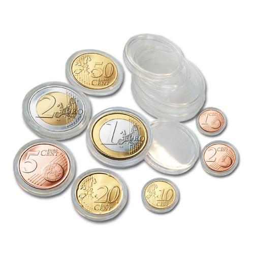 5 set di capsule per monete - per 5 serie Euro