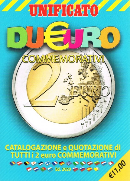 UNIFICATO Catalogo 2 EURO Commemorativi 2020