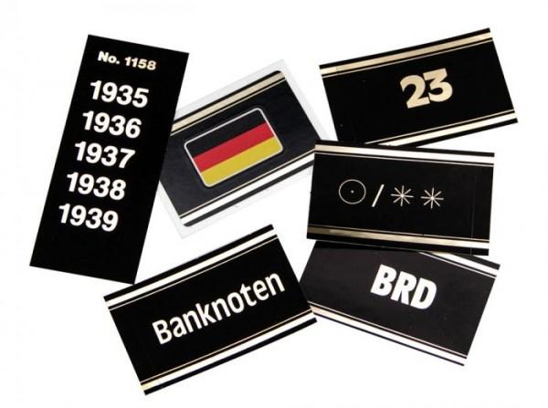 Etichette Paesi internazionali