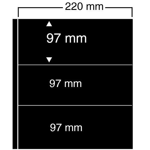 """Foglio nero Nr. 453 """"Compact A4"""""""