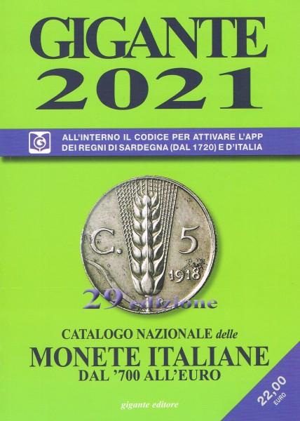 GIGANTE CATALOGO MONETE ITALIANE 2021