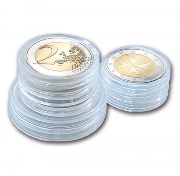 Capsule per monete senza bordo 26 mm