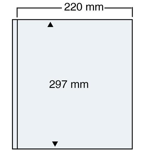 "Foglio trasparente Nr. 450 ""Compact A4"""