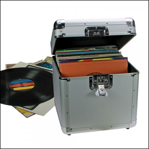 Valigetta per 100 dischi LPs in vinile