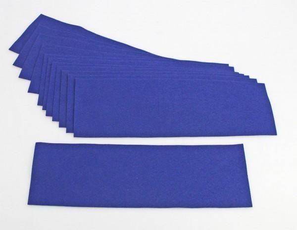 Rivestimento per i ripiani blu scuro per Vetrinetta in vetro acrilico Modulo D-E-F