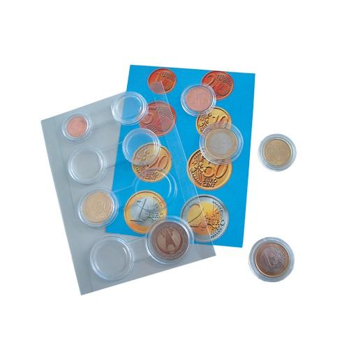 1 set di capsule per monete - per 1 seria Euro