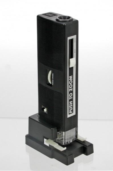 Microscopio zoom per francobolli, monete, banconote