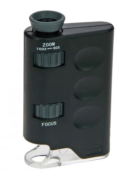 Microscopio ZOOM con LED 60-100 x