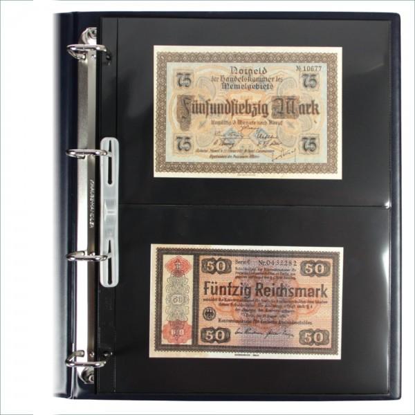 """Foglio nero Nr. 452 """"Compact A4"""" per banconote"""