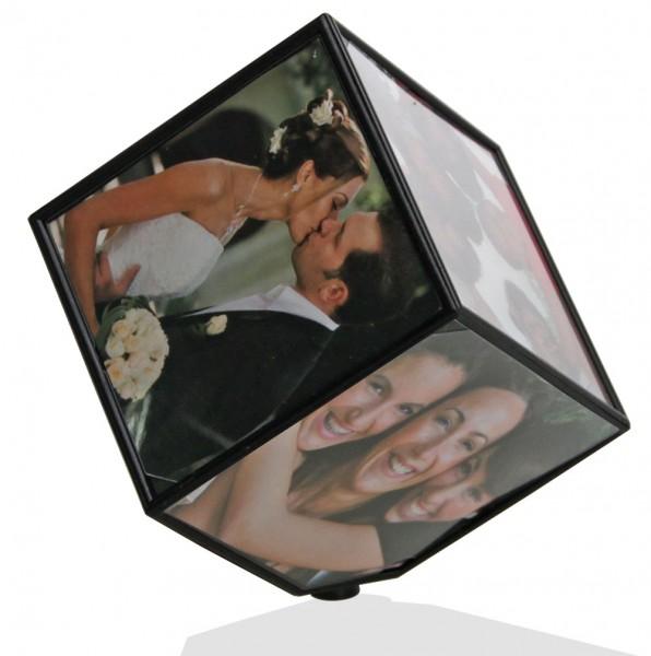 Cubo fotografico rotante
