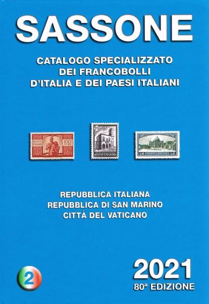 SASSONE CATALOGO SPECIALIZZATO VOLUME 2 2021