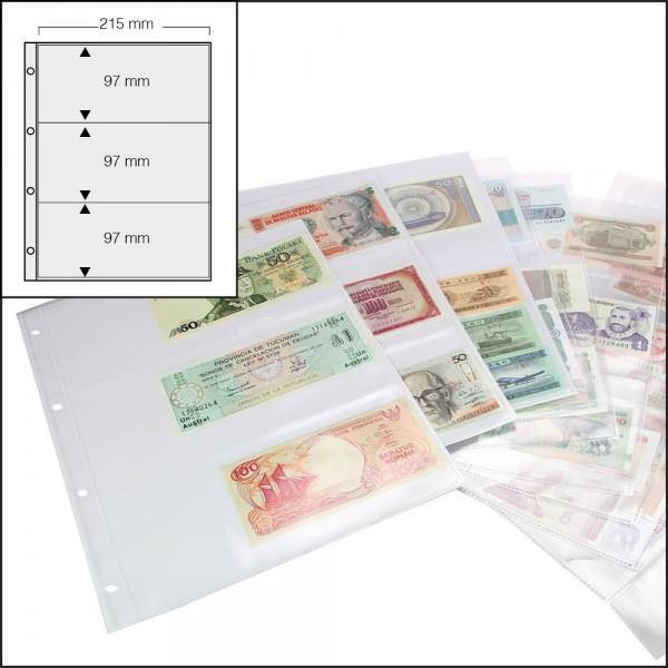 10 fogli supplementari 5483 per Album per banconote DESIGN
