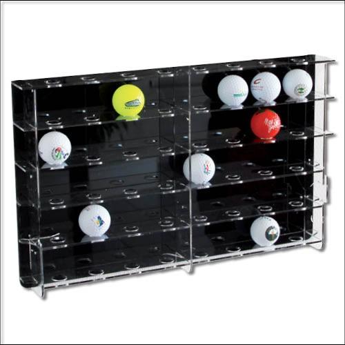 Vetrina in acrilico per palline da golf