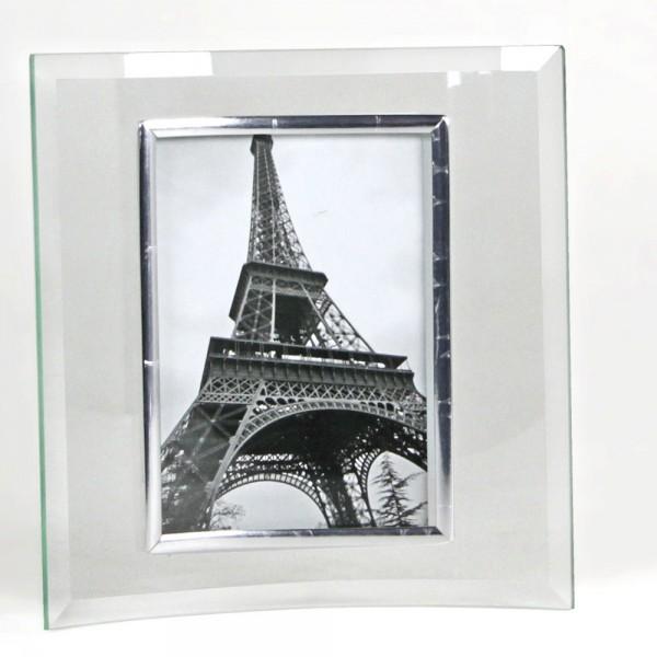Cornice in vetro curvato