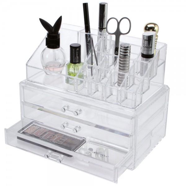 Organizzatore di cosmetici e gioielli