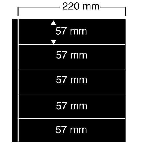 """Foglio nero Nr. 455 """"Compact A4"""""""