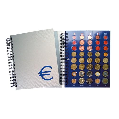 """Album a spirale """"TOPset"""" Serie Euro"""