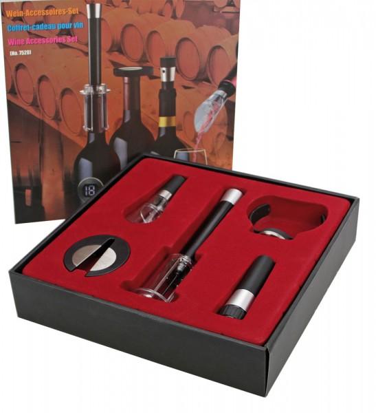 Set di accessori per il vino