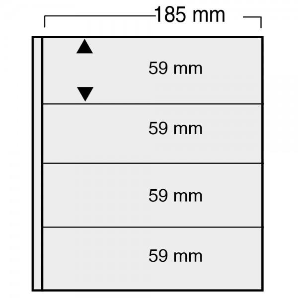 "Foglio nero Nr. 861 ""Variant"" - utilizzabile sui 2 lati"