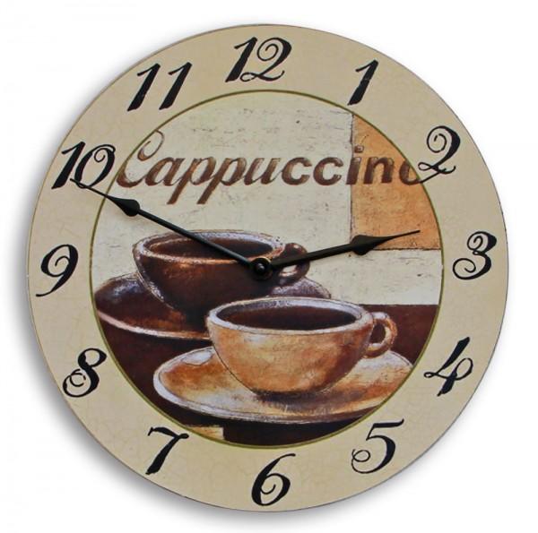 """Orologio da parete """"Cappuccino"""""""