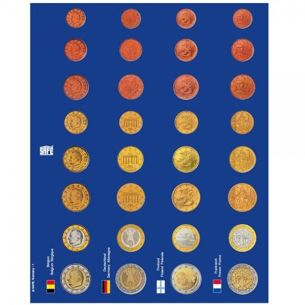 TOPset-Fogli prestampati a colori per monete in capsule