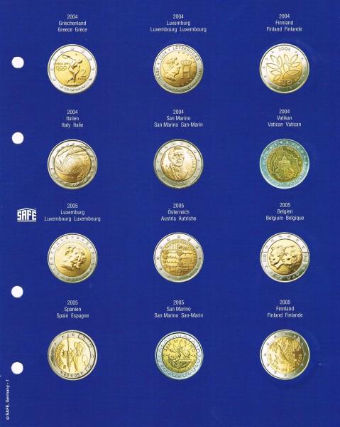 TOPset Fogli supplementare per monete 2 €uro in capsule