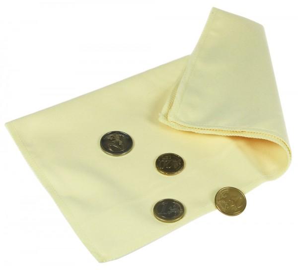Panno per pulire le monete